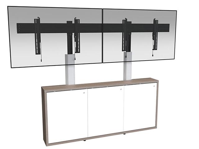 C3 Credenza frame to furniture mount